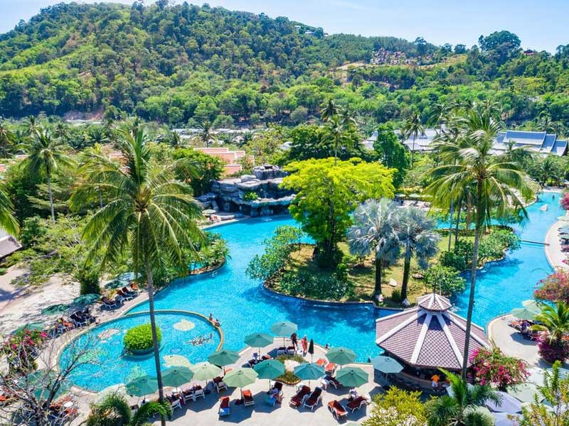 هتل Duangjitt Resort and Spa Patong Beach Phuket